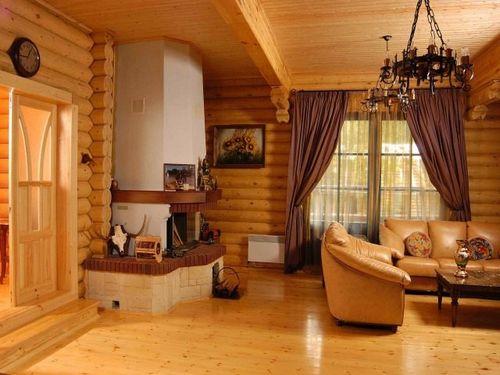 Отделка блок хаусом внутри: монтаж и обшивка стен дома