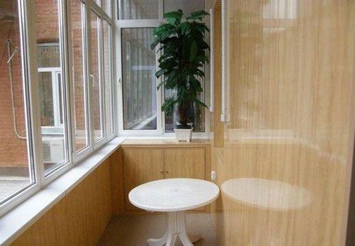 Отделка лоджий и балконов пластиком: панелями мдф, пвх