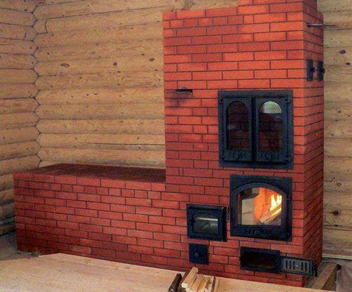 Отопительная печка из кирпича своими руками: как самому сделать печку, какой кирпич использовать лучше, как сложить, устройство на фото и видео