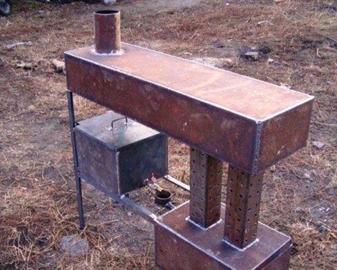 Отопление на отработке своими руками: отопительные котлы на мазуте и отработке, фото и видео примеры