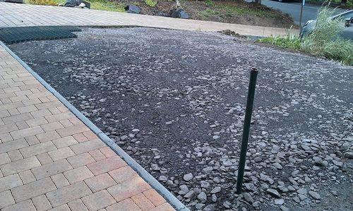 Парковка на даче своими руками: фото, видео инструкция