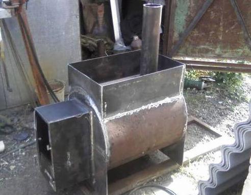 Печь для бани своими руками - металлическая или кирпичная
