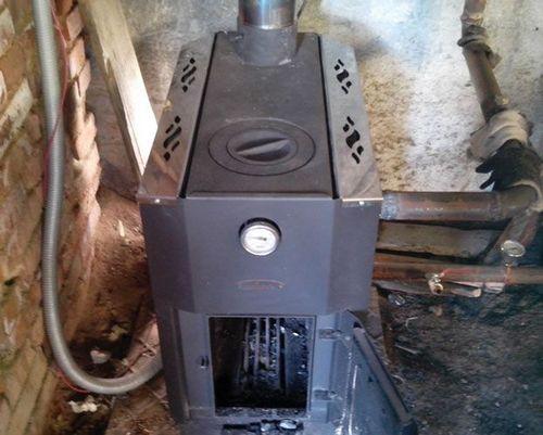 Печь для дома с водяным отоплением: водяной котел для кирпичной печи, фото и видео примеры