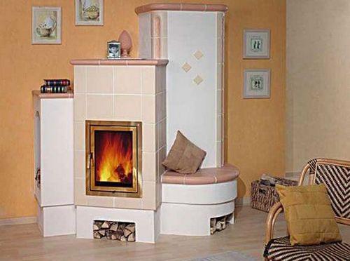 Печь дровяная отопительная, характеристика кирпичной конструкции, как устроить систему длительного горения, особенности установки для дачи, фото  видео инструкции