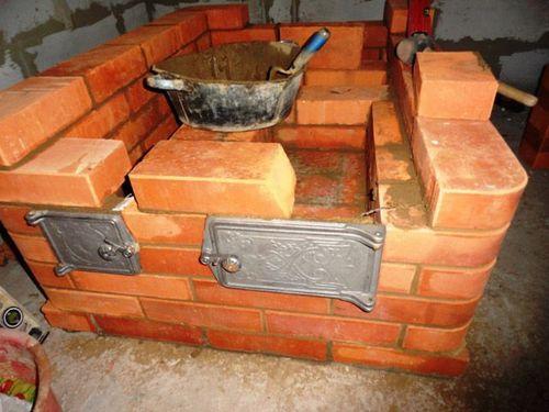 Печь шведка с плитой: отопительно варочная печь с лежанкой, как сложить кирпичную печь своими руками, кладка шведок из кирпича, сколько кирпича нужно