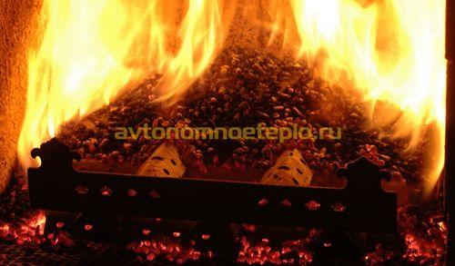 Пеллетная горелка для котла – ретортная, факельная, каминная
