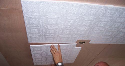 Пенополистирольная потолочная плитка для отделки