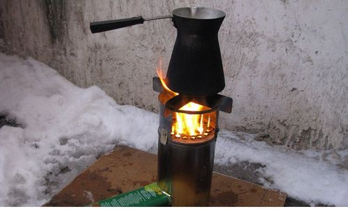 Пиролизная печь своими руками (фото)