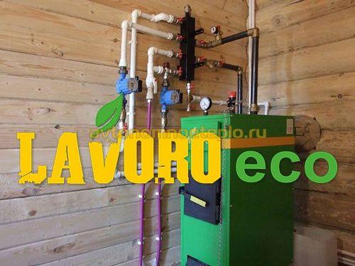 Пиролизные котлы Lavoro ECO, почему популярно оборудование Лаворо