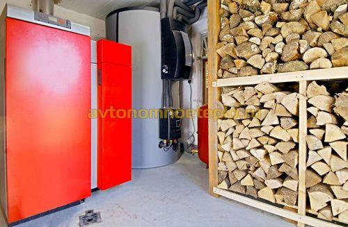 Пиролизный котел на дровах – устройство и схема работы