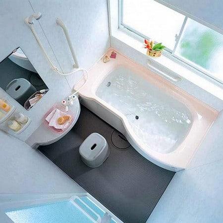 Планировка маленькой ванной комнаты- как уместить все необходимое в одном помещении