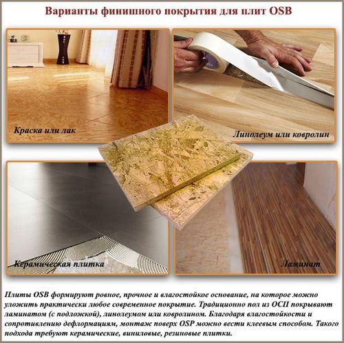 Плита OSB: технические характеристики и правила укладки
