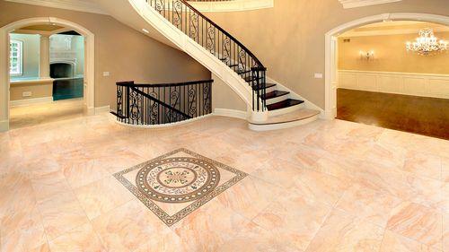 Плитка для прихожей на пол и дизайн керамической плитки для гостинной