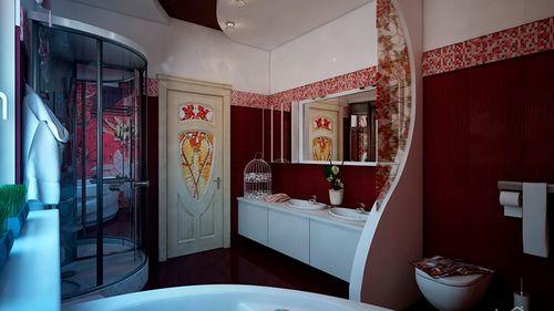 Плитка для ванной комнаты: фото дизайн интерьера