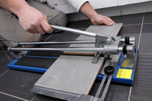 Плиткорез: назначение,характеристика видов, особенности работы с инструментом, видео