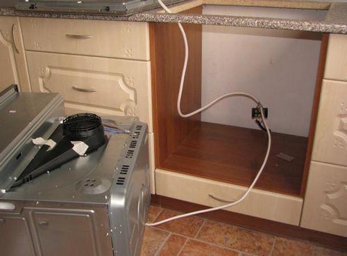 Подключение варочной панели и духового шкафа