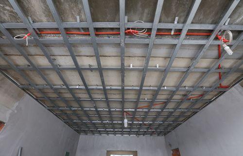 Подвесной потолок из гипсокартона двухуровневый своими руками и многоуровневый