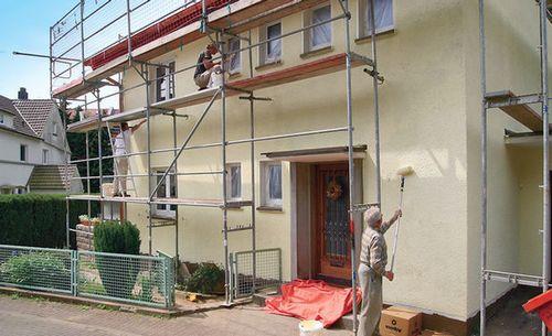 Форум по покраски фасада