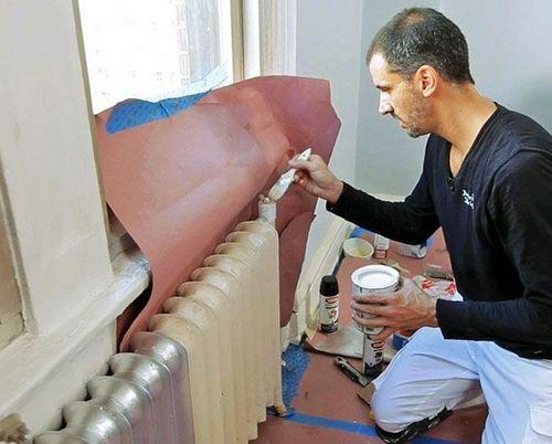 Покраска труб отопления: как и чем покрасить, какой краской правильно окрасить трубы, фото и видео инструкции