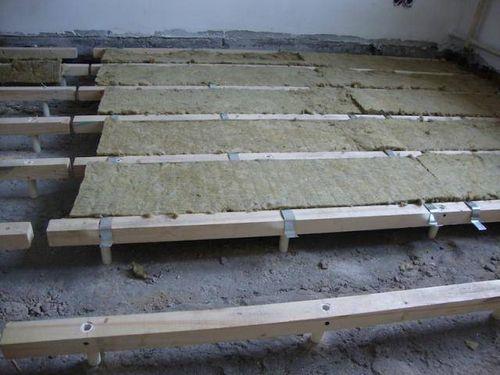 Пол на лагах - варианты конструкции и особенности их сооружения