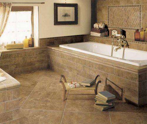 Пол в ванной комнате и как сделать напольное покрытие
