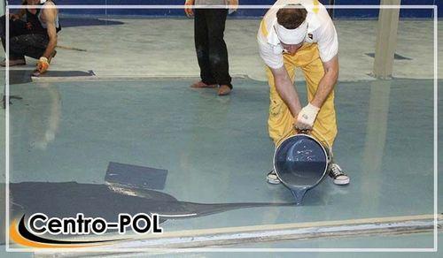 Полиуретановый наливной пол двухкомпонентный и покрытие для спортивных площадок