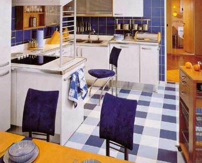 Полы на кухне: фото идеи для дизайна и сравнение вариантов