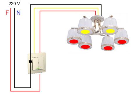Правильная установка выключателей света