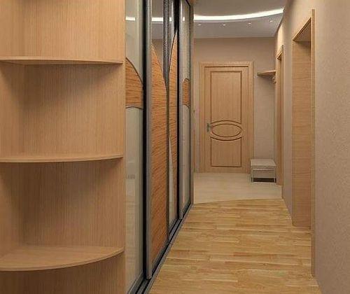 Прихожие для узких коридоров: идеи оформления, фотографии
