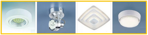 Применяем светодиодные встраиваемые мебельные светильники