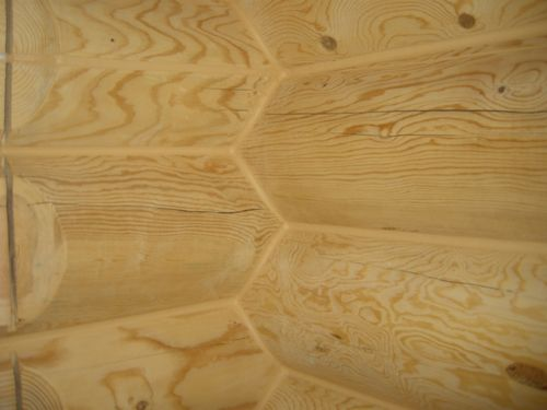 Проекты домов из оцилиндрованного бревна: схемы, фото, видео