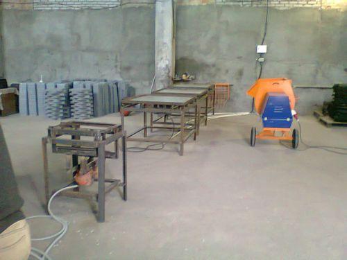 Производство тротуарной плитки и оборудование для изготовления