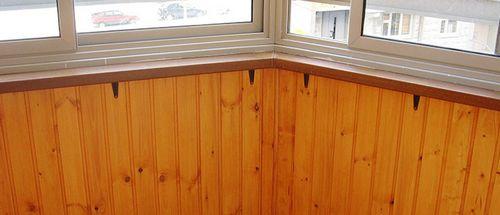 Простой способ обшивки балкона вагонкой