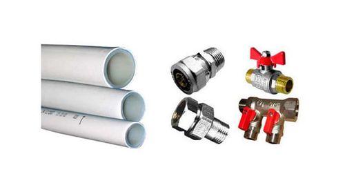 ПВХ трубы для водопровода: способы монтажа