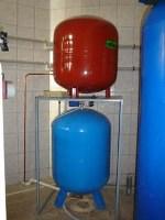 Расширительный бак для водоснабжения: выбор, характеристики мембранных изделий, установка