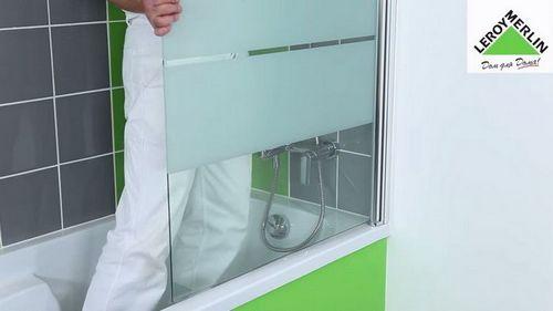 Раздвижная ширма для ванной своими руками: фото, видео инструкция