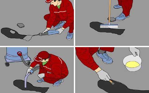 Ремонт бетонных полов: как устранить трещины, отслоения, неровности