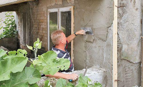 Ремонт цоколя: фото, видео инструкция