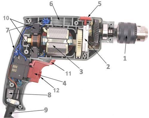Ремонт дрели своими руками: как подключить кнопку, заменить щётки, проверить ротор, починить якорь, инструкция с фото и видео