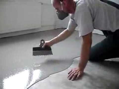 Самонивелирующийся наливной пол: фото, видео инструкция
