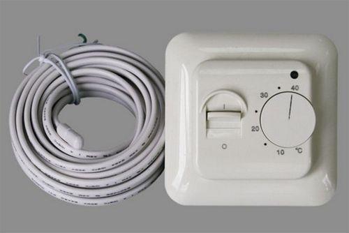 Подключение терморегулятора к теплому полу, особенности устройства и схема подогрева, фото и видео примеры