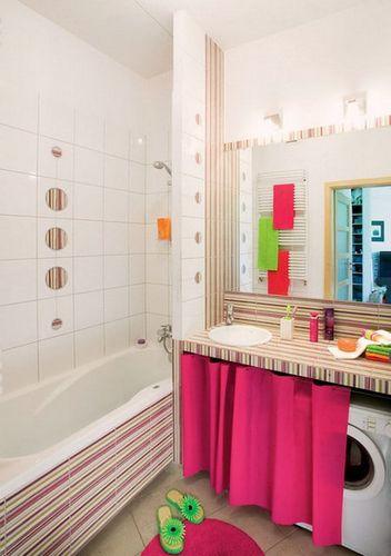 Шторка под ванну вместо экрана: может ли элемент декора быть функциональным