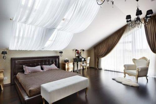 Шторы для спальни: фото, дизайн 2018 года, новинки
