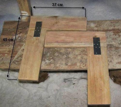Скамейка трансформер своими руками: чертежи, размеры