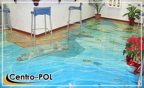 Сколько стоит наливной пол 3D и цена пола за квадратный метр