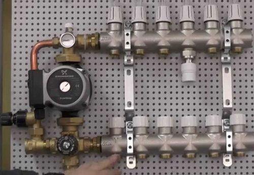 Смесительный узел для теплого пола своими руками: схема термосмесительного узла подмеса, как работает, самодельная смесительная группа, насосный узел смешивания