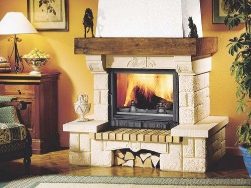Современные газовые камины - превосходная альтернатива традиционным каминам