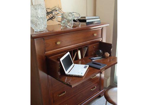 Современный письменный секретер в интерьере: идеи использования
