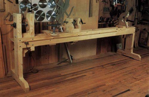 Создаем токарный станок по дереву для дома своими руками