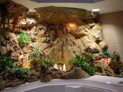 Создание и монтаж декоративных фонтанов и водопадов для дома